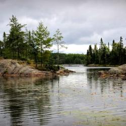 Hidden Lake in Minnesota